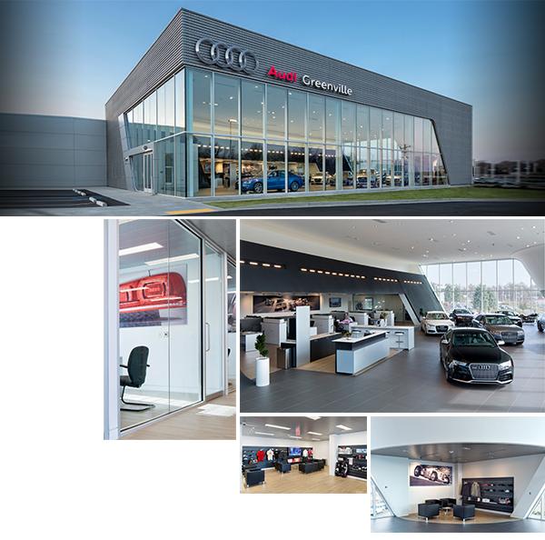 New Audi Facility Greenville Sc Serving Asheville Nc