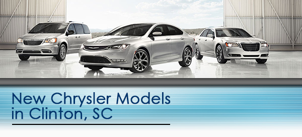 New Chrysler Models Clinton Sc Serving Laurens