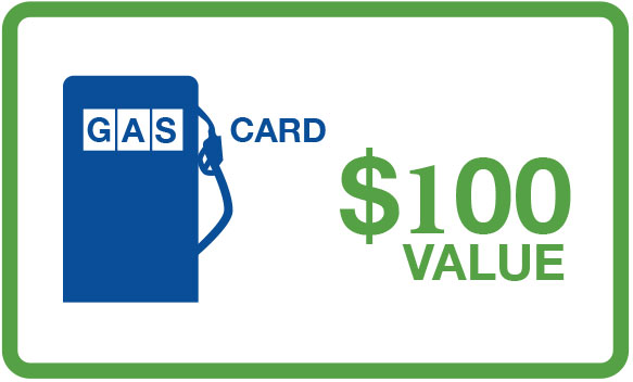 Gas Card 100 Value