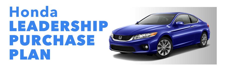 Honda Leadership Purchase Plan