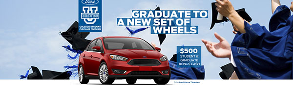 Graduate to a New Set of Wheels