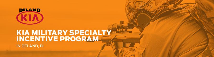 Kia Military Specialty Incentive Program