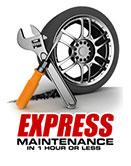 Express maintenance