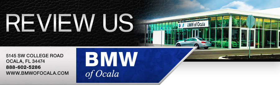 Review Our BMW Dealership in Ocala, FL!