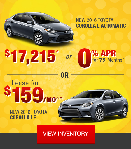 Toyota Event: The Big One Sales Event