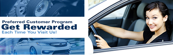 Morganton Honda Preferred Customer Plan