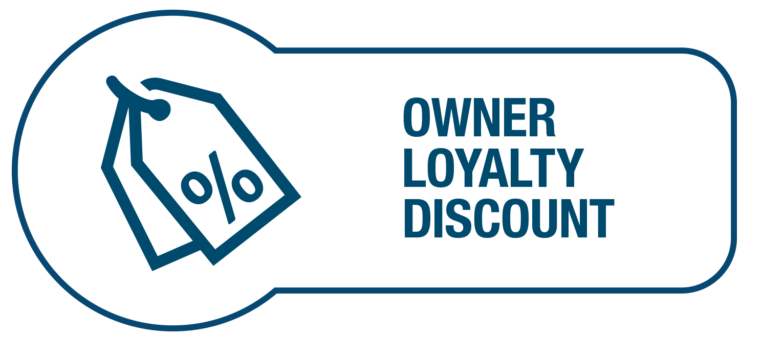 Owner Loyalty Discount