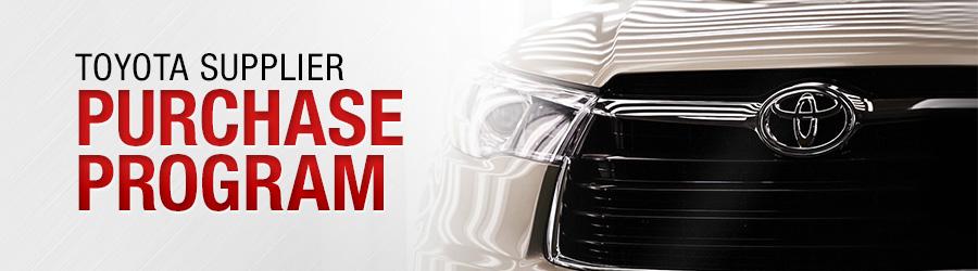Toyota Supplier Purchase Program (TSPP) in Lansing, MI