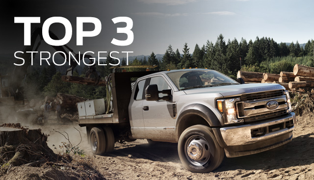 The top three strongest Ford models