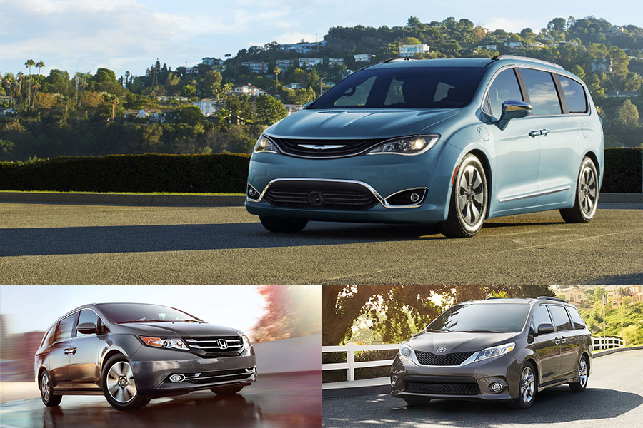 2017 chrysler pacifica vs 2016 honda odyssey 2016 for Chrysler pacifica vs honda odyssey