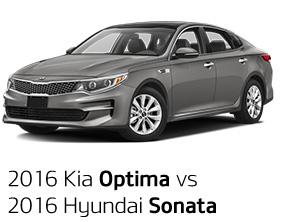 2016 Kia Optima vs. 2016 Hyundai Sonata