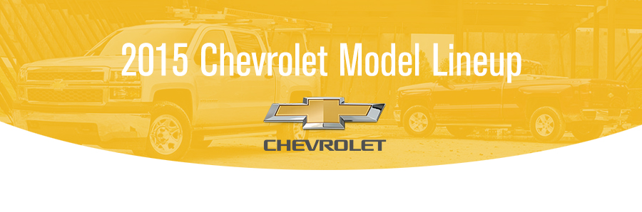 2015 Chevrolet Model Lineup