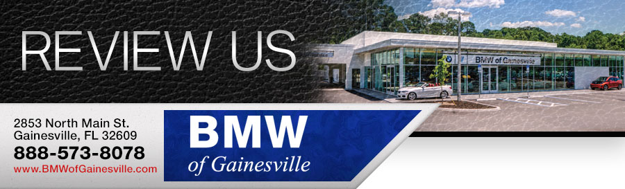 Review Our BMW Dealership in Gainesville, FL!