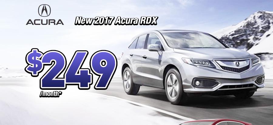 New 2017 Acura RDX $249/month*