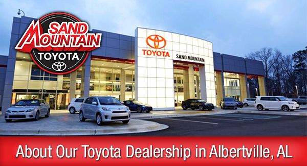 About Our Toyota Dealership in Albertville, AL