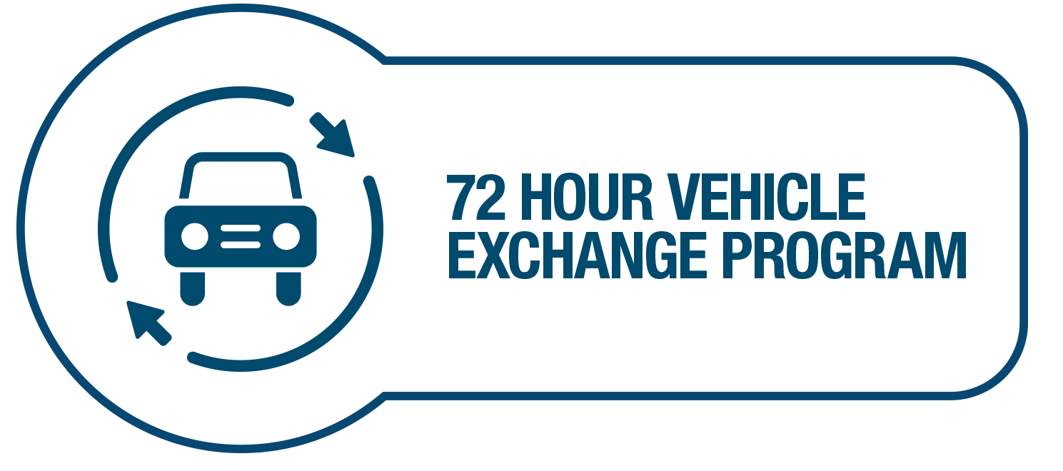 72 Hour Vehicle Exchange Program