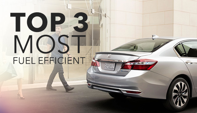 Most Fuel Efficient Honda Models in Morganton, NC