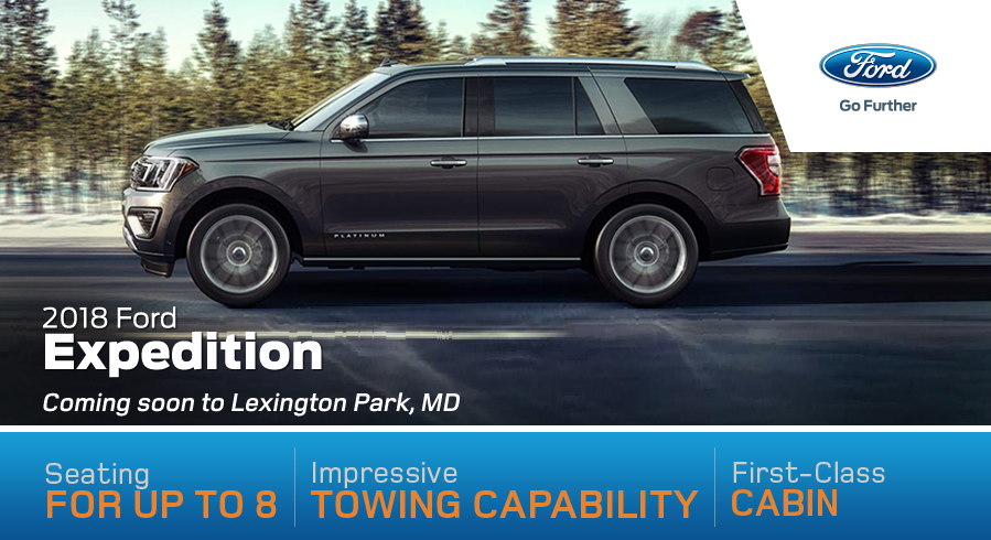 2018 Ford Expedition Coming soon to Lexington Park, MD