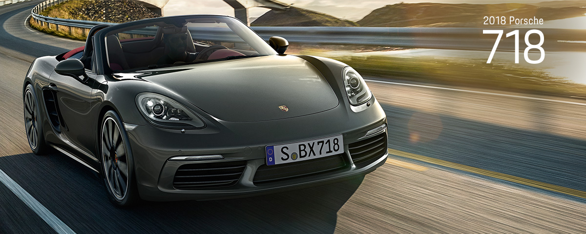 car vehicle motor 2018 Porsche 718 Sobx718