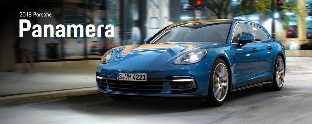 car luxury vehicle 2018 Porsche Panamera Sovm 4221