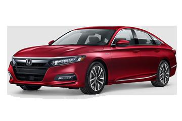 2019 Honda Accord Hybrid EX-L Red