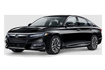 2019 Honda Accord Hybrid Touring Black
