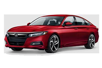 Honda Accord Sport Red