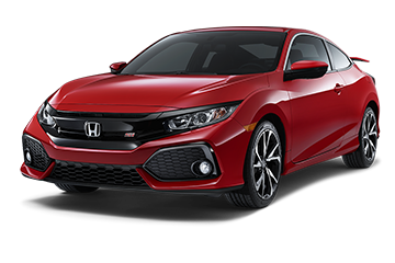 2019 Honda Civic Coupe Si Red