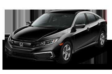 2019 Honda Civic Sedan LX Black