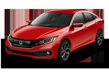 2019 Honda Civic Sedan Sport Red