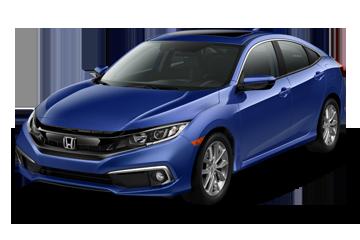 2019 Honda Civic Sedan EX Blue