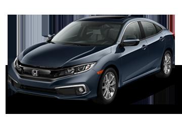 2019 Honda Civic Sedan EX-L Black