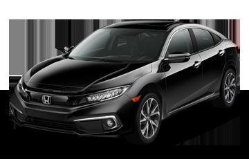 2019 Honda Civic Sedan Touring Black