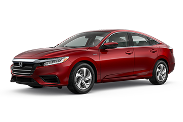 2019 Honda Insight EX Red