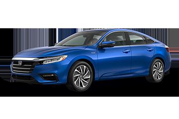 2019 Honda Insight Touring Blue
