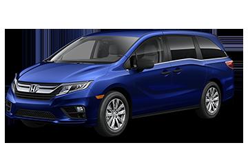 2019 Honda Odyssey LX Blue