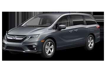 2019 Honda Odyssey EX Black