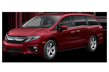 2019 Honda Odyssey EX-L Red