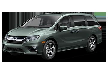 2019 Honda Odyssey Touring Green