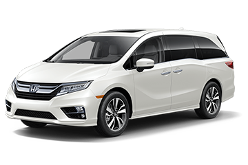 2019 Honda Odyssey Elite White