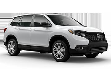 2019 Honda Passport EX-L White