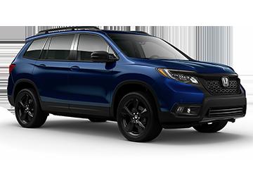 2019 Honda Passport Elite Blue