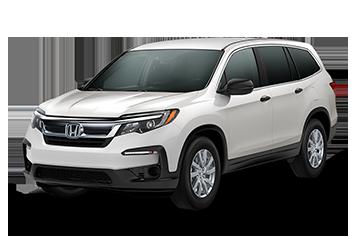 2019 Honda Pilot LX White