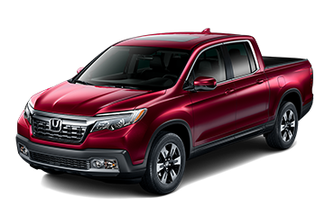 2019 Honda Ridgeline RTL Red