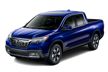 2019 Honda Ridgeline RTL-T Blue