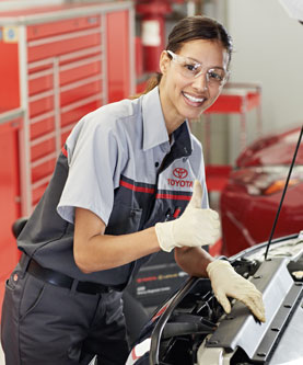 Oxmoor Toyota Service >> Toyota Service Center Pauly Toyota